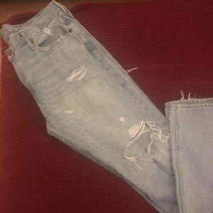Men's Hollister distressed Skinny Jean